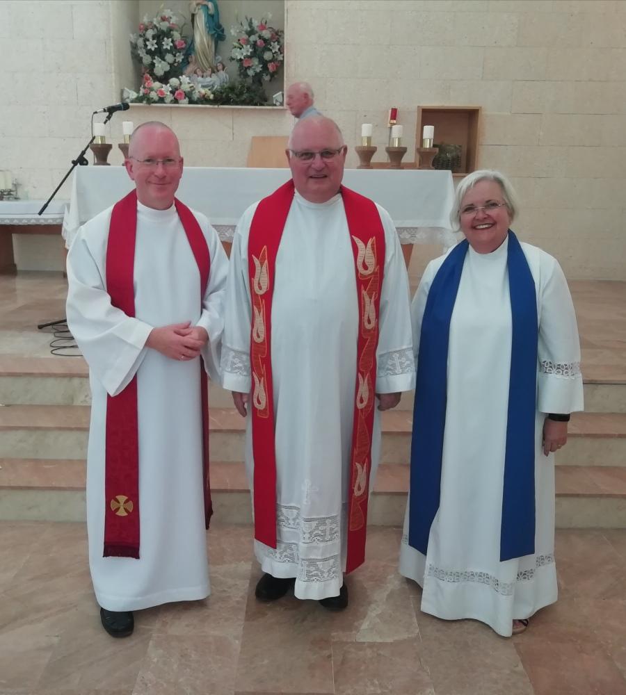 Peter F 40th anniversary Mass.jpg